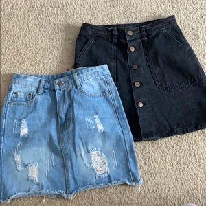 SALE! $35 Jean Skirt Bundle